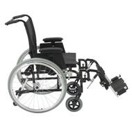 "Cougar Ultra Lightweight Rehab Wheelchair, Elevating Leg Rests, 16"" Seat"