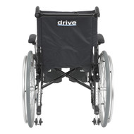 "Cougar Ultra Lightweight Rehab Wheelchair, Elevating Leg Rests, 18"" Seat"