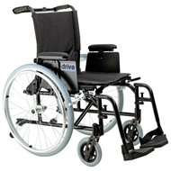 """Cougar Ultra Lightweight Rehab Wheelchair, Swing away Footrests, 18"""" Seat"""