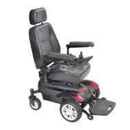 "Titan X16 Front Wheel Power Wheelchair, Vented Captain's Seat, 18"" x 18"""