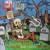 BURIED ALIVE  - VA w Bad Religion , Red Kross and more -  Comp LP's