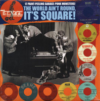 TEENAGE SHUTDOWN - Vol  10  (60s garage punk monsters!  ) The World Aint Round It's Square-  Comp LP's