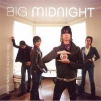 BIG MIDNIGHT - Everything For The First Time ( S.F. power pop/garage  Stooges style ) - CD