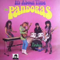 PANDORAS, THE - It's About Time- BACK IN PRINT (Psychedelic fuzz goddesses!) CD