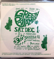 GREEN PAJAMAS  -  Very rare early flexi disc-( (Brit -style paisley underground psych )   45 RPM