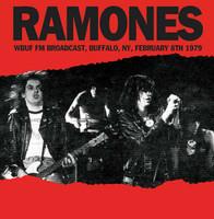RAMONES   - WBUF FM Broadcast, Buffalo, NY, February 8th 1979  w. background notes and rare photos -   LP