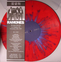 RAMONES    - WHISKEY A GO-GO, LOS ANGELES, CA, NOV. 24TH  ltd ed of 350 on RED VINYL -  LP