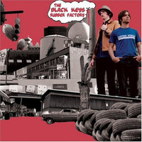 BLACK KEYS   - Rubber Factory -180 gram -  LP