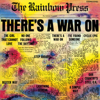 RAINBOW PRESS -There's a War On  SALE! (68 psych insert with liners)ONE ONLY! LP