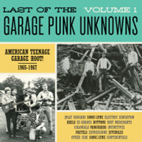 LAST OF THE GARAGE PUNK UNKNOWNS  VOL 1 -  American Teenage Garage Hoot! 1965-1967 GATEFOLD -   COMP LP