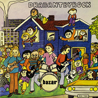 BAZAR- Drabantbyrock- gatefold slv, insert , liners  KICK ASS 70s psych prog -  LP