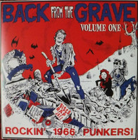 BACK FROM THE GRAVE  - Vol 1 - GATEFOLD  (60s garage punk PEBBLES STYLE!) COMP LP
