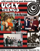 UGLY THINGS  - #32   Paul Revere and the Raiders-   BOOKS & MAGS