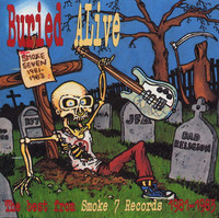 BURIED ALIVE  - THE BEST OF SMOKE 7 - LAST COPY! VOL 2 w Bad Religion, Red Kross, RF7 and more --  COMP CD