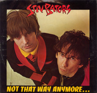 BATORS, STIV -Not That Way / Circumstantial Evidence( pic sleeve w some damage)   45 RPM