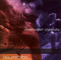 STREET WALKIN CHEETAHS - Resurrection w bonus video - Promo CD