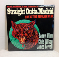 """STRAIGHT OUTTA MADRID (Flamin Groovies) Live at the Revolver CLub 1995 10""""  LP"""