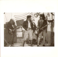 GERMS   - Forming BW LIVE  on RED  VINYL w tweaked corner -  45 RPM