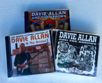 ALLAN  DAVIE  AND THE ARROWS   - 3 CD BUNDLE -  CD