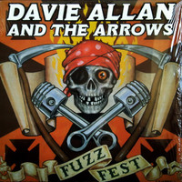 ALLAN  DAVIE  AND THE ARROWS - Fuzzfest -LAST COPIES!   LP