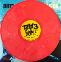 DM3  -  West of Anywhere -  RASPBERRY  PINK  SWIRL VINYL  ltd ed of 150 -Amazing NERVES/SHOES/ROMANTICS style powerpop! -  LP