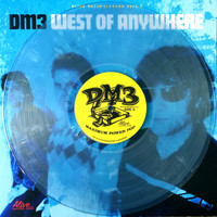 DM3-  West of Anywhere - CLEAR SKY  BLUE VINYL  ltd ed of 150 -Amazing NERVES/SHOES /ROMANTICS style powerpop! LP