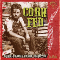 CORN FED  - Vol 1 Features 16 rural rockers and hick boppers YELLOW VINYL Ltd ed -  LP