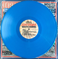 DIRTY STREETS - White Horse - ELECTRIC BLUE VINYL  (Radio Moscow tourmates heavy POWER TRIO )  ltd ed of 150  LP