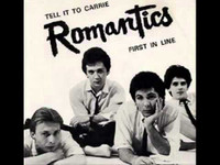 ROMANTICS   - PIC SLV ONLY!  Tell It To Carrie/ First in Line   45 RPM