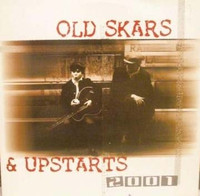 OLD SKARS & UPSTARTS 2001 -w poster insert  LAST ONE!   COMP LP