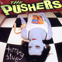 PUSHERS - Turning Blue- LAST COPIES of OC street punk skate classic!  LP