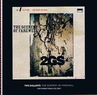 TWO GALLANTS -SCENERY OF FAREWELL- PROMO  CD