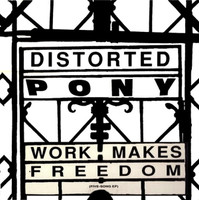 DISTORTED PONY   - Work Makes Freedom Orig pressing -LP