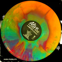 BLACK KEYS  -NEW PRESSING! The Big Come Up- Their First LP  LTD EDITION of  100 HAND MIXED STARBURST VINYL!   LP