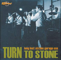 TURN TO STONE  VOL 1- VA   Rare 60s garage COMP LP