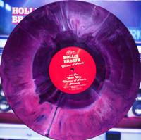 HOLLIS BROWN -  CLuster of Pearls  LTd ED STARBURST VINYL LP
