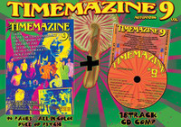 TIMEMAZINE #9 - PLUS CD AND 7""