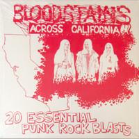 BLOODSTAINS ACROSS CALIF   - VA  (rare KDB punk reissue) -  COMP CD