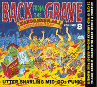 BACK FROM THE GRAVE - Vol 8 - 32 prime slabs of mid 60s USA garage punk aceness - COMP CD