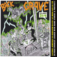 BACK FROM THE GRAVE - Vol 3 & 4 - 60s Garage Punk - COMP CD