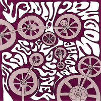 DOLLY ROCKER MOVEMENT - PURPLE JOURNEY -FOLDED TRAY CARD DISCOUNT!(Aussie paisley psych) CD