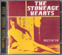 STONEAGE HEARTS - Guilty As Sin (w. Dom Mariani of DM3 and Datura4)OFF THE HIP  CD
