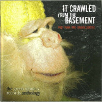IT CRAWLED FROM THE BASEMENT - DBL CD post punk  'Seattle Underground Rock 1983-91 w 28 page booklet COMP CD