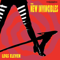 NEW INVINCIBLES  - Legs Eleven (Snarling acid-garage-rock outta Perth Sonics style)CD