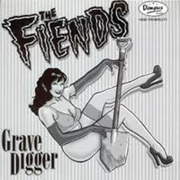 FIENDS  - GRAVEDIGGER (CLASSIC 60S GARAGE BAND COVERS) LP
