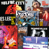 ALIVE 2016 YEAR END WRAP UP -ALL 9 RELEASES ON HAND MIXED STARBURST VINYL! LP
