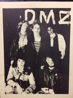 DMZ  - FLIER FROM  70s PROMO PACKAGE - ORIGINAL XEROX 9x12