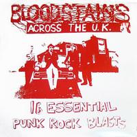 BLOODSTAINS ACROSS THE UK #2   - VA RED VINYL ltd to 666 copies-  COMP LP