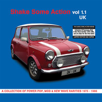 SHAKE SOME ACTION  Vol 1.1 (rare 70s  power-pop, mod, and new wave singles)  COMP LP
