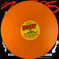 ZEROS   - Don't Push Me Around LAST COPIES! -LTD ED  of 100  ORANGE VINYL w orig. insert!